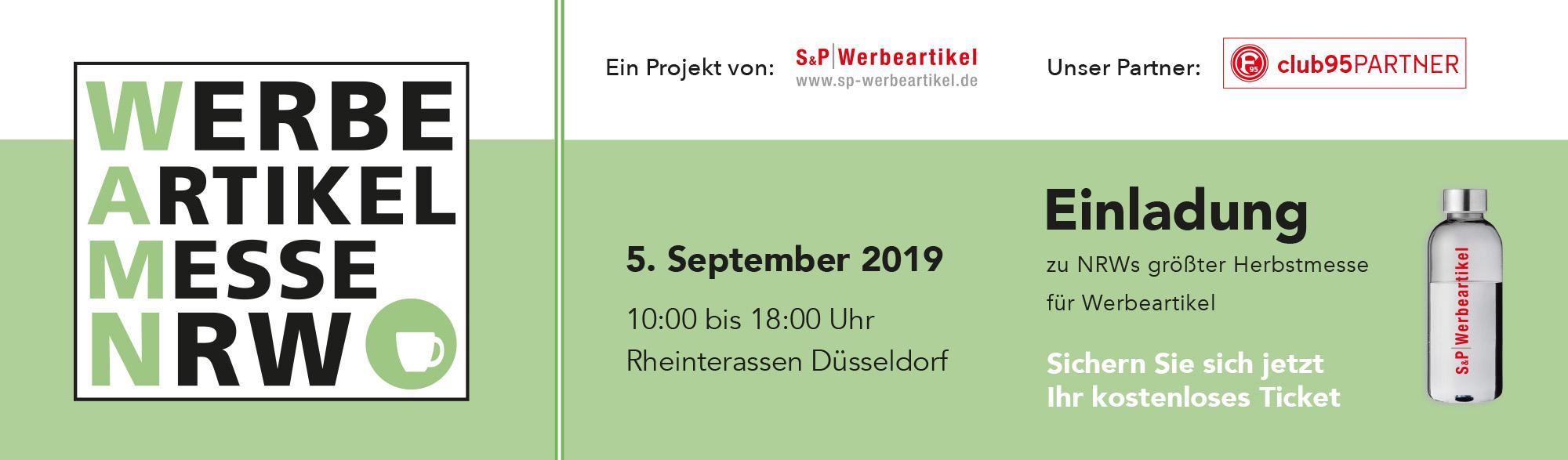 Slider Werbe Artikel Messe NRW 2019